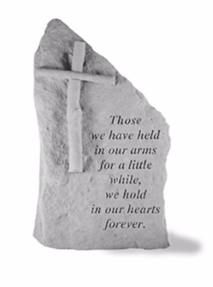 Those We Have Held Garden Stone