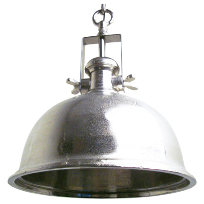 KENNEDY Hanging Lamp, Raw Nickel