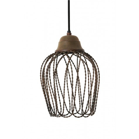 BETTINA HANGING LAMP OLD RUST