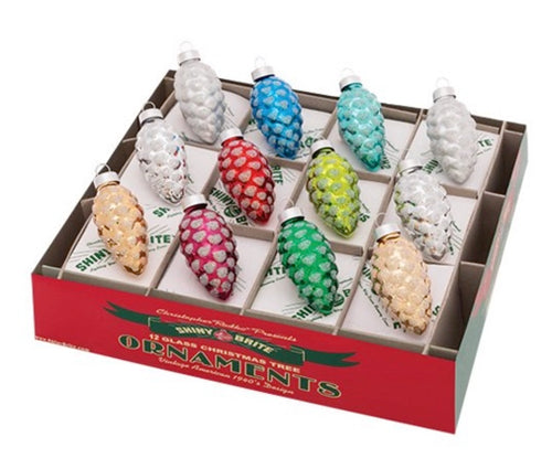 Shiny Brite - Mini Pinecones