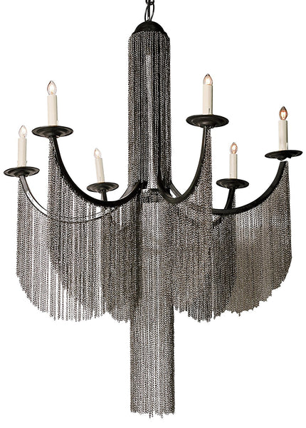 Chainmail Chandelier- Black
