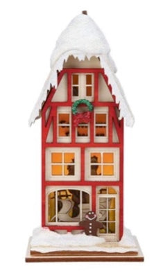 Tannenbaum Toboggan Company Ginger Cottages by Old World Christmas