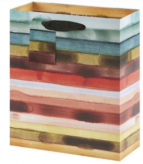 Saturated Stripes Gift Bag