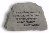To Everything There is a Reason Garden Stone