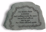 Our Family Chain Garden Stone