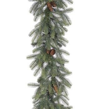 New England Pine Garland - 9ft