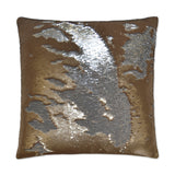 Hylee-Gold Sequin Pillow