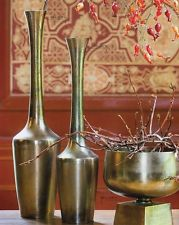 Fauske Transitional Vase  Modern Antique Bronze