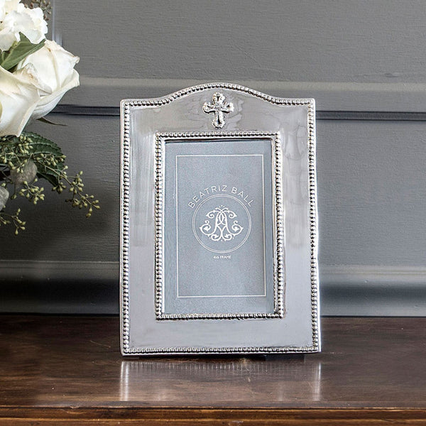 Baby Cross Photo Frame