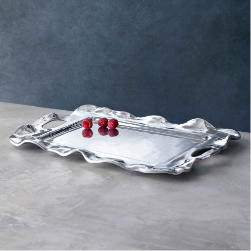 Vento Rebecca Rectangle Tray, with handles