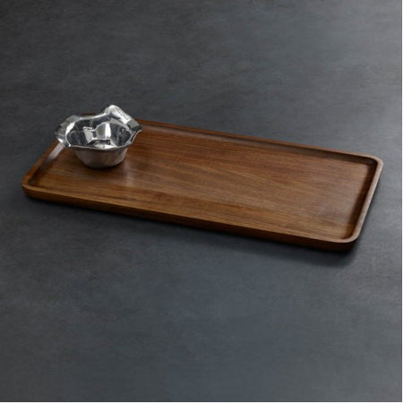 CUTTING BOARD Western Antler Oval (gray wood)
