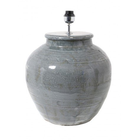 KODOVAN Lamp Base Gray Ceramic, Large