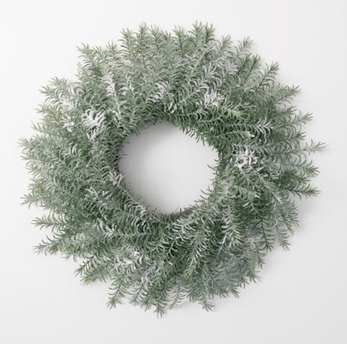 Frosted Pine Wreath - 26""