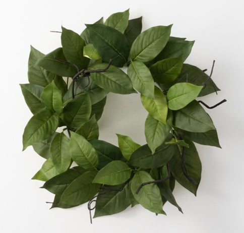 Salal Leaf Wreath - 24""