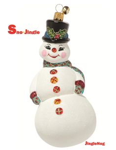 Sno-Jingle Ornament by JingleNog