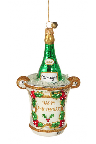 Happy Anniversary Ornament by JIngleNog