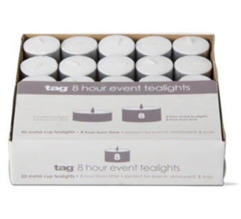 Event Tealight Candles by TAG