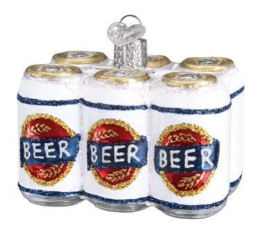 Six Pack of Beer by Old World Christmas