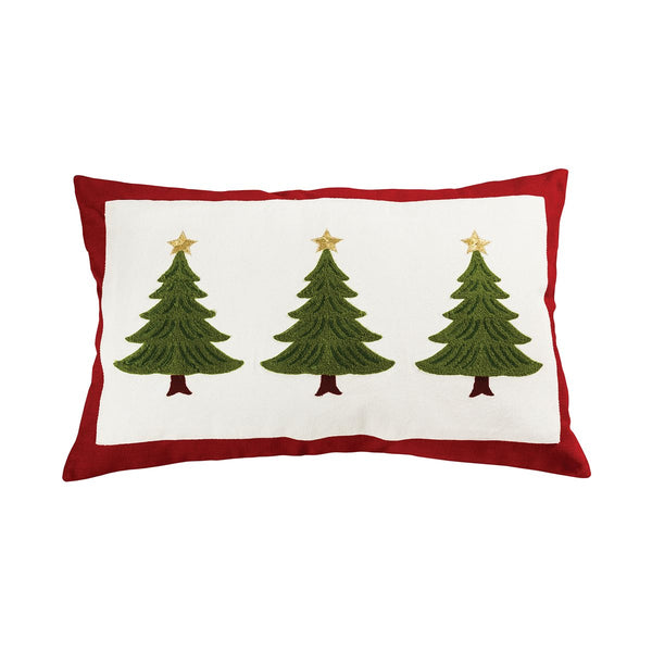 Evergreen Tree Throw Pillow