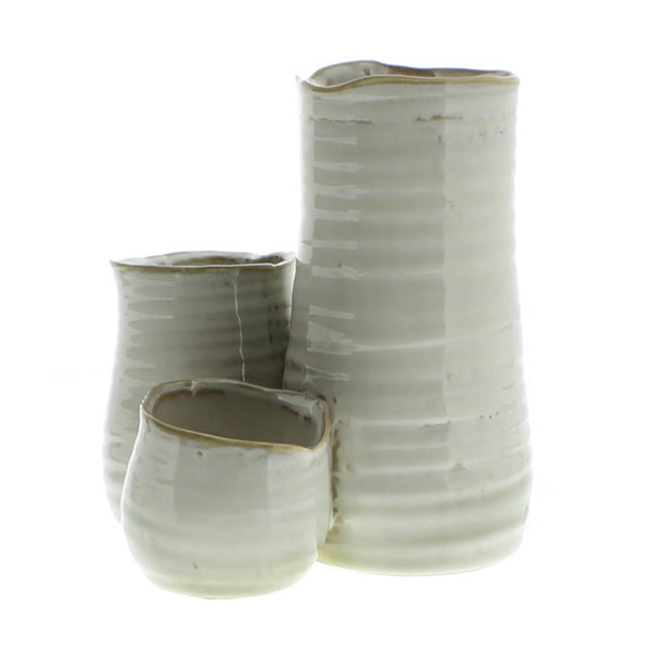 Bower Ceramic Vase Trio
