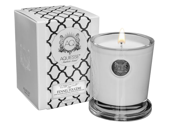 FENNEL FOUGERE~LARGE SOY CANDLE by AQUIESSE