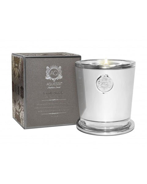 VANILLA SMOKE~LARGE CANDLE IN GIFT BOX by AQUIESSE