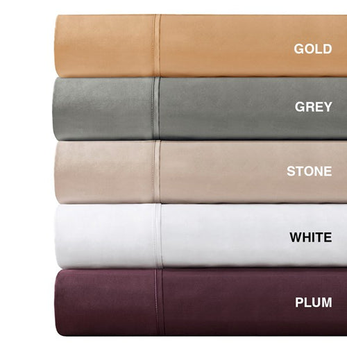 600 thread count pima cotton sheet set grey