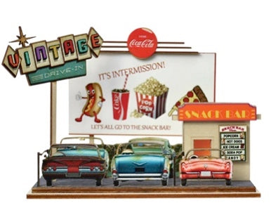 Classic Drive In Theater Ginger Cottages by Old World Christmas