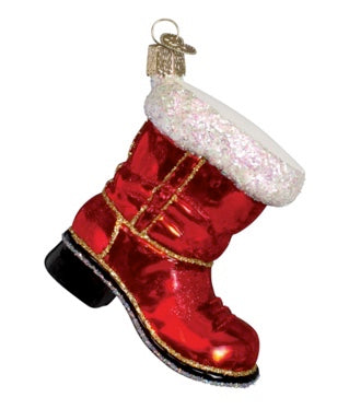 Santa's Boot by Old World Christmas
