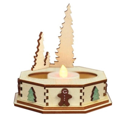 Tree Tealight Display by Old World Christmas