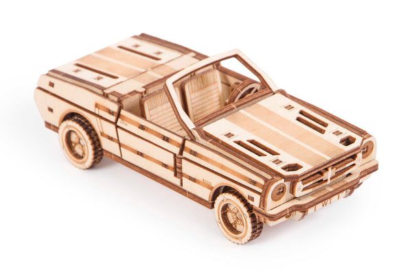 Cabriolet Mechanical 3D Puzzle