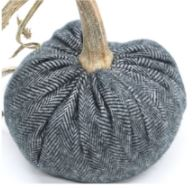 Hot Skwash Charcoal Cashmere Pumpkin