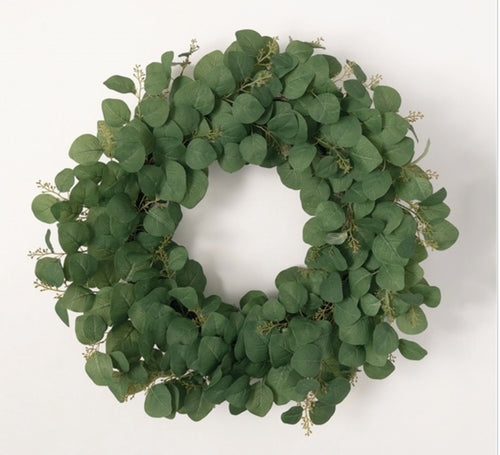 Eucalyptus Berry Wreath - 30""