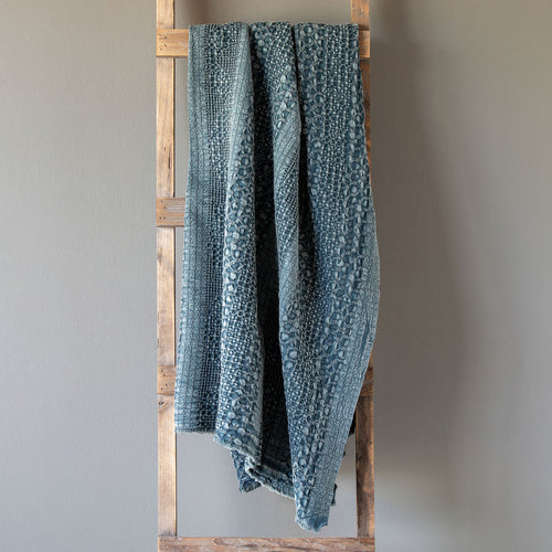 Heathered Waffle Weave Throws