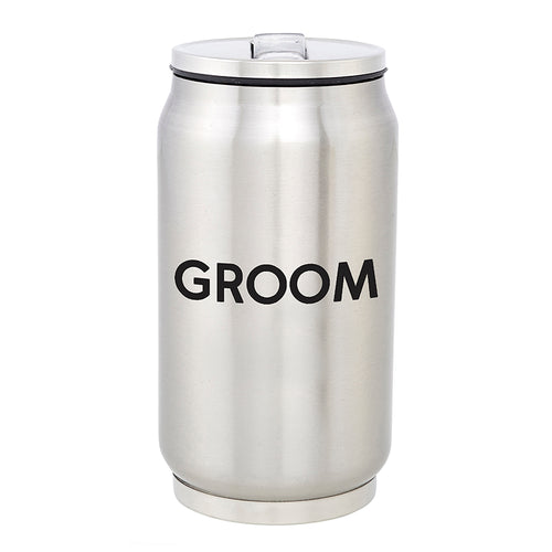 Groom/Groomsmen Stainless Steel Cans