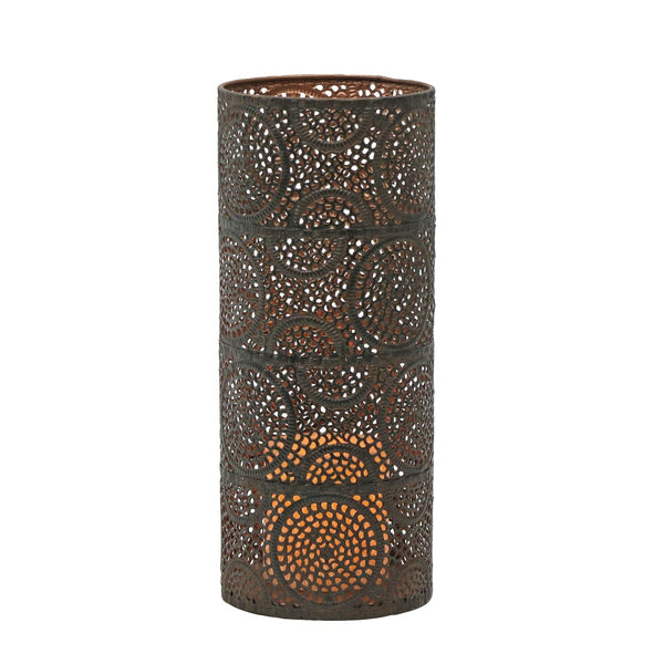 Scrollwork Pillar Candle Holder