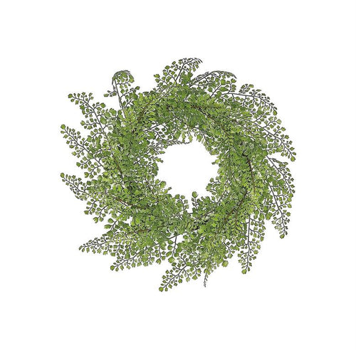 Maidenhair Fern Wreath