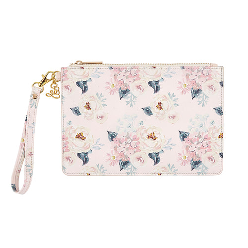 Floral Bridesmaid Wristlet