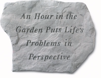 Garden Stone - Hour in the Garden