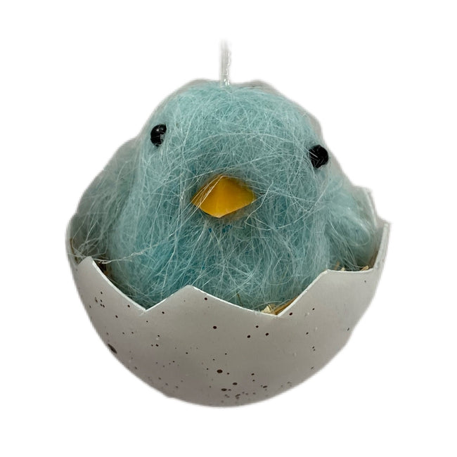 Chick in Egg Ornament