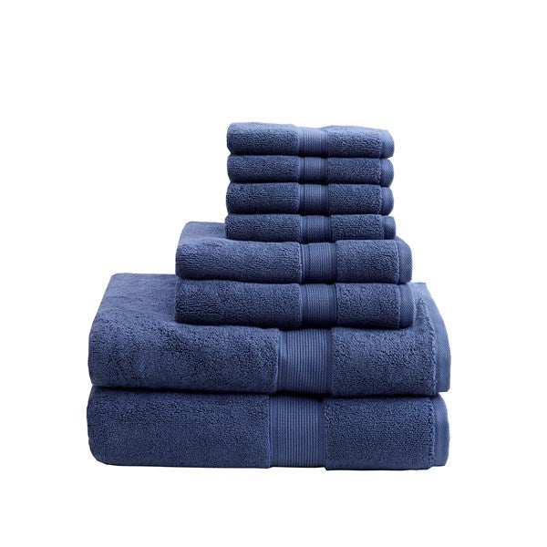 800GSM 100% Cotton 8pc Towel Set