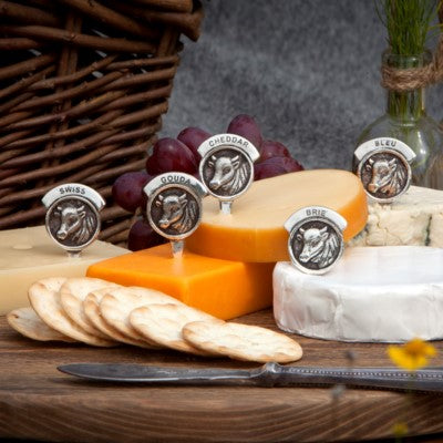 Vintage Style Cheese Markers