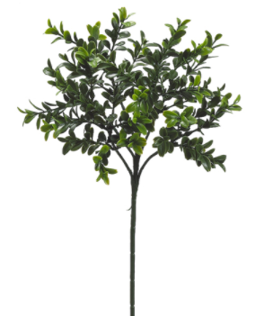 "18.5"" Boxwood Spray- Green"