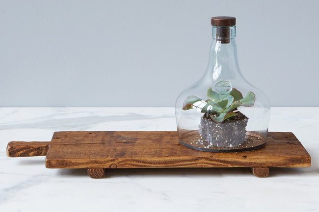 Rustic Footed Tray