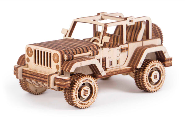 Safari Car Mechanical 3D Puzzle
