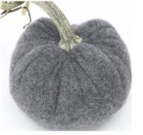 Hot Skwash Graphite Velvet Pumpkin