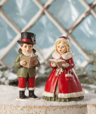 Christmas Carolers (Set of 2)