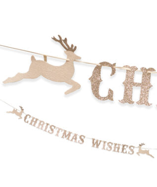 Christmas Wishes Garland