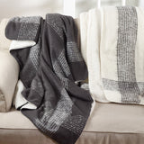Faux Mohair Plaid Throw - 50