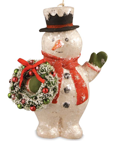 Jolly Snowman Ornament